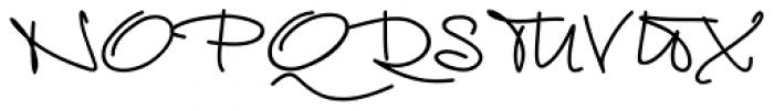 Euroscript Pro Font UPPERCASE