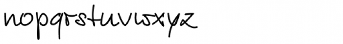 Euroscript Pro Font LOWERCASE
