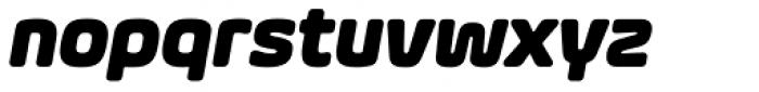 Eurosoft Bold Italic Font LOWERCASE