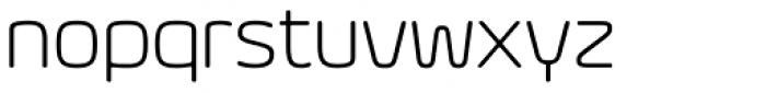 Eurosoft Light Font LOWERCASE