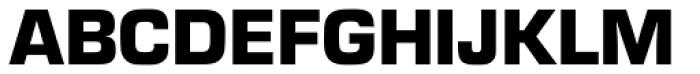 Eurostile Black Font UPPERCASE