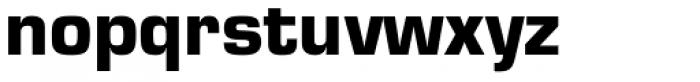 Eurostile Black Font LOWERCASE