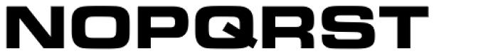 Eurostile Bold Extended #2 Font UPPERCASE
