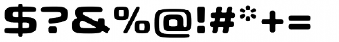 Eurostile Candy Pro Bold Font OTHER CHARS