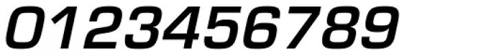 Eurostile Demi Oblique Font OTHER CHARS