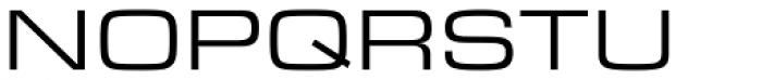 Eurostile Ext Regular Font UPPERCASE