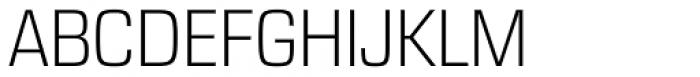 Eurostile Next Narrow Light Font UPPERCASE