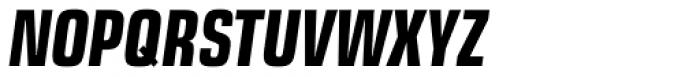 Eurostile Next Pro Condensed Bold Italic Font UPPERCASE