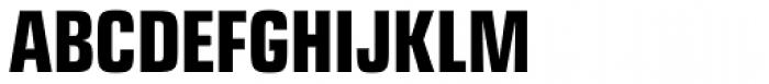 Eurostile Next Pro Condensed Bold Font UPPERCASE