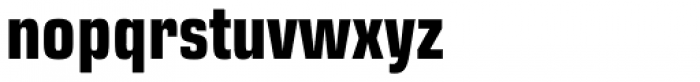 Eurostile Next Pro Condensed Bold Font LOWERCASE