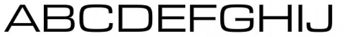 Eurostile Next Pro Extended Font UPPERCASE