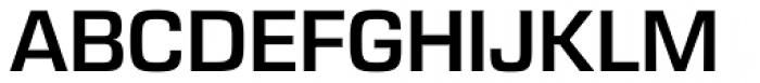 Eurostile Next Pro SemiBold Font UPPERCASE