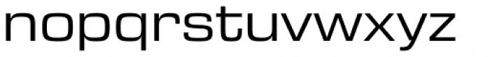 Eurostile Next Pro Wide Regular Font LOWERCASE