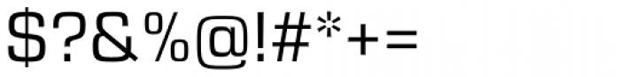 Eurostile Next Pro Font OTHER CHARS