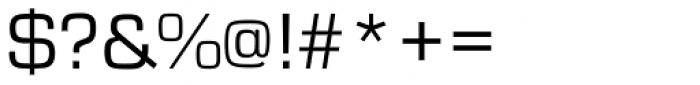 Eurostile Regular Font OTHER CHARS