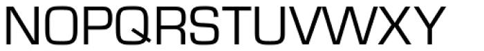 Eurostile Regular Font UPPERCASE