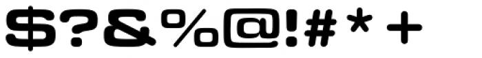 Eurostile Round Extended Black Font OTHER CHARS