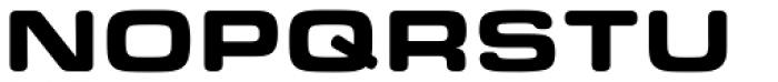 Eurostile Round Extended Black Font UPPERCASE