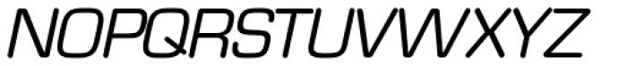 Eurostile Round Italic Font UPPERCASE