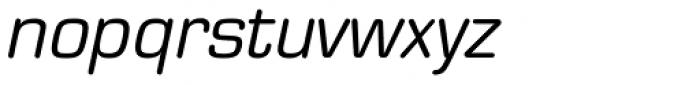 Eurostile Round Italic Font LOWERCASE