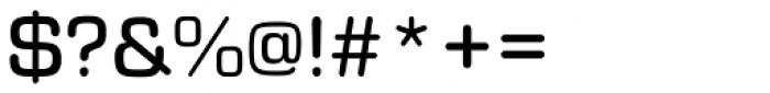 Eurostile Round Medium Font OTHER CHARS
