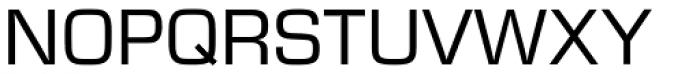 Eurostile SB Regular Font UPPERCASE