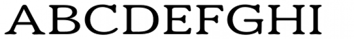 Eutheric Expanded Font UPPERCASE