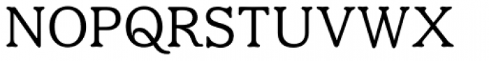 Eutheric Font UPPERCASE