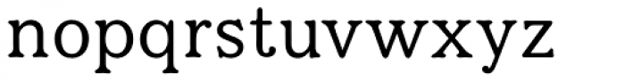 Eutheric Font LOWERCASE
