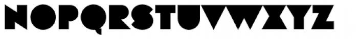 Eutopia Background Font UPPERCASE