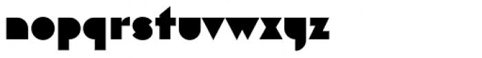 Eutopia Background Font LOWERCASE