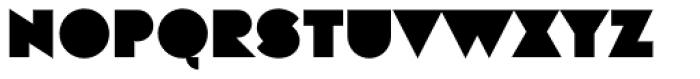 Eutopia Normal Font UPPERCASE