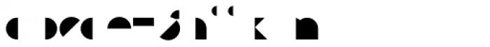 Eutopia Yang Duotone Font LOWERCASE