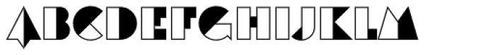 Eutopia Yang Font UPPERCASE