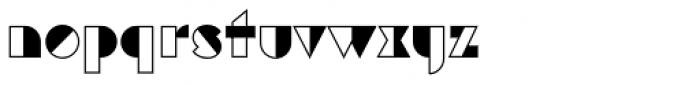 Eutopia Yang Font LOWERCASE