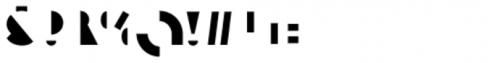 Eutopia Yin Duotone Font OTHER CHARS