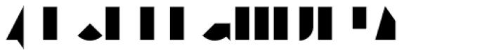 Eutopia Yin Duotone Font UPPERCASE