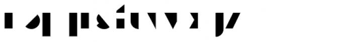 Eutopia Yin Duotone Font LOWERCASE