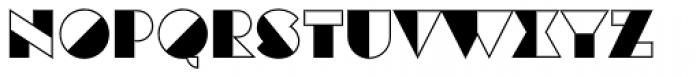Eutopia Yin Font UPPERCASE