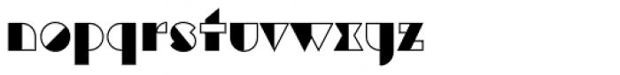 Eutopia Yin Font LOWERCASE