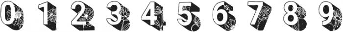 EVA Regular otf (400) Font OTHER CHARS