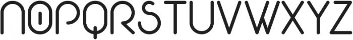 Eva ttf (700) Font UPPERCASE