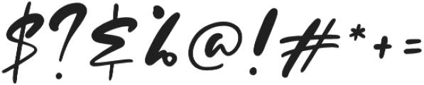 Evangeline otf (400) Font OTHER CHARS