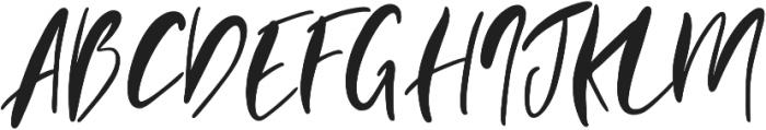 Evangeline otf (400) Font UPPERCASE