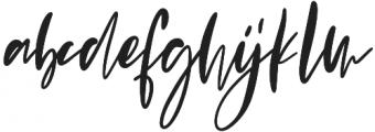 Evangeline otf (400) Font LOWERCASE
