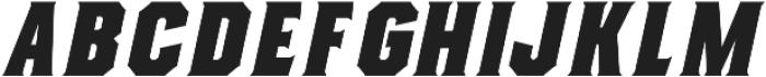 Evanston Alehouse Heavy 1826 Oblique otf (800) Font LOWERCASE