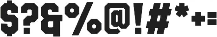Evanston Tavern 1826 Bold otf (700) Font OTHER CHARS