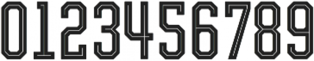 Evanston Tavern 1826 Regular Inline otf (400) Font OTHER CHARS