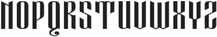 Eveagita Luxury Cap otf (700) Font LOWERCASE