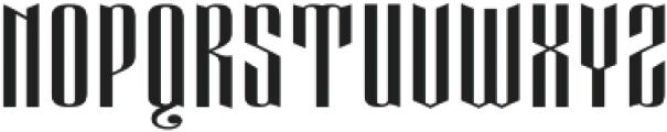 Eveagita Luxury otf (700) Font UPPERCASE